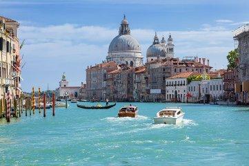 Santa Maria della Salute, Venecia.