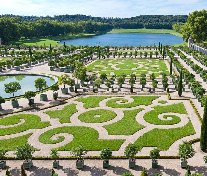Versailles, Jardines