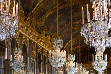 La espectacular Sala de los Espejos de Versalles -