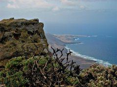 Ina Widegren Playa de Cofete - Vista hacia el Noreste desde el Pico de la Zarza CC BY 2.0 SA
