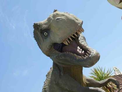 Imagen: Tyrannosaur en Gardaland por Spencer Wright, (CC BY-SA 2.0)