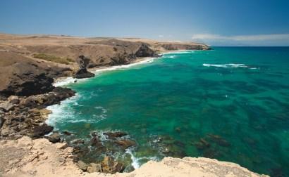 Panorama de las playas en La Pared, Fuerteventura. Imagen: ©depositphotos.com/Tamara_k