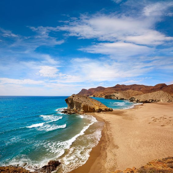 Playa de Monsul, Cabo de Gata, Almería