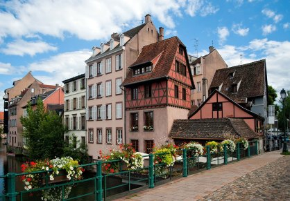 Centro ciudad de Estrasburgo Foto: ©depositphotos/Kataieva
