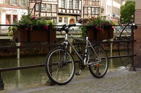 Imagen de bicicleta en Estrasburgo por anne arnould, (CC BY-SA 2.0)