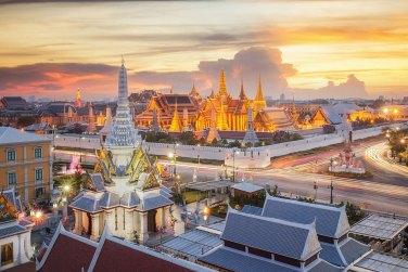 El Gran Palacio de Bangkok, templo Wat Phra Kaew