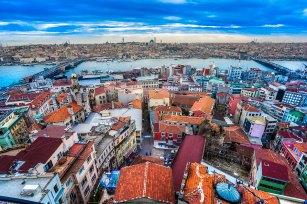 Torre de Gálata en beyoglu, Estambul, Turquía— Foto de masterlu