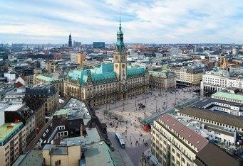 Vista aérea de la Plaza del Ayuntamiento