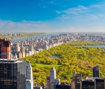Vista de Nueva York y el Central Park