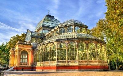 Palacio de Cristal. Parque del Buen Retiro, Madrid