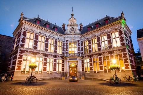 Rectorado de la Universidad en la Plaza del Dom (Domplein), Utrecht