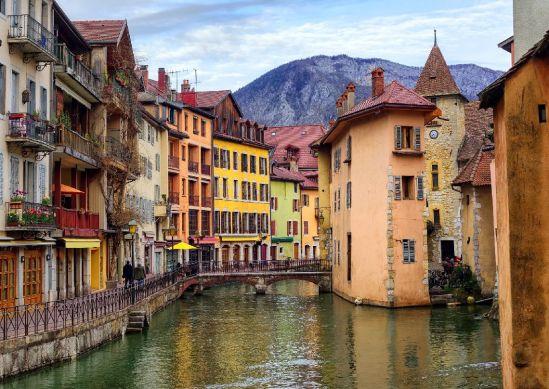 Casco antiguo, Annecy. Francia.