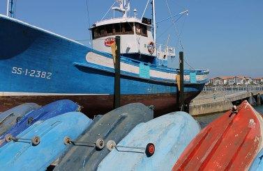 Barcos en Hondarribia por Nicolas Vollmer (CC BY 2.0