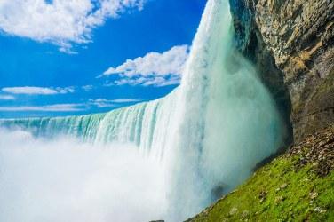 Las cataratas del Niágara en invierno, Niagara Falls.