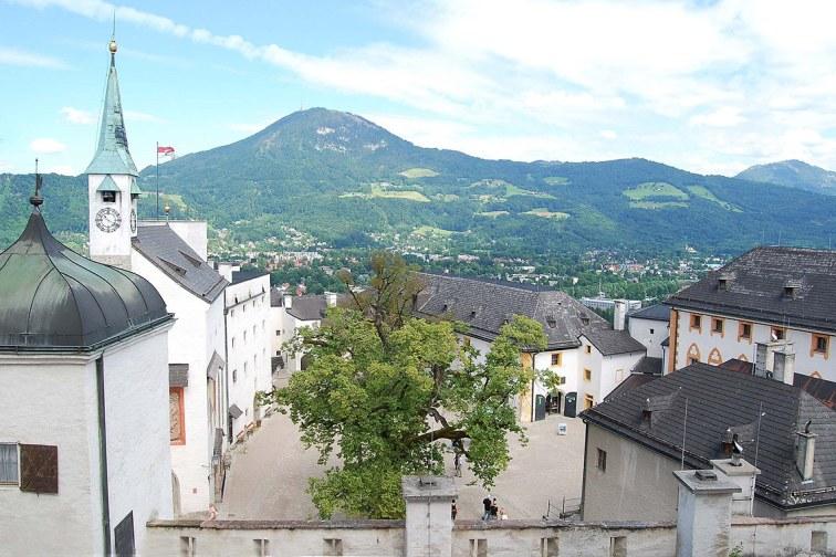 Castillo de Hohensalzburg, Salzburgo.