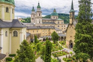 Cementerio de San Pedro, Salzburgo
