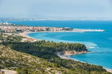 Playa, cerca de Tarragona, Costa Dorada