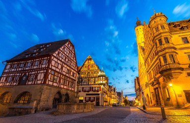 Rothenburgo / Rothenburg ob der Tauber, Franconia, Baviera