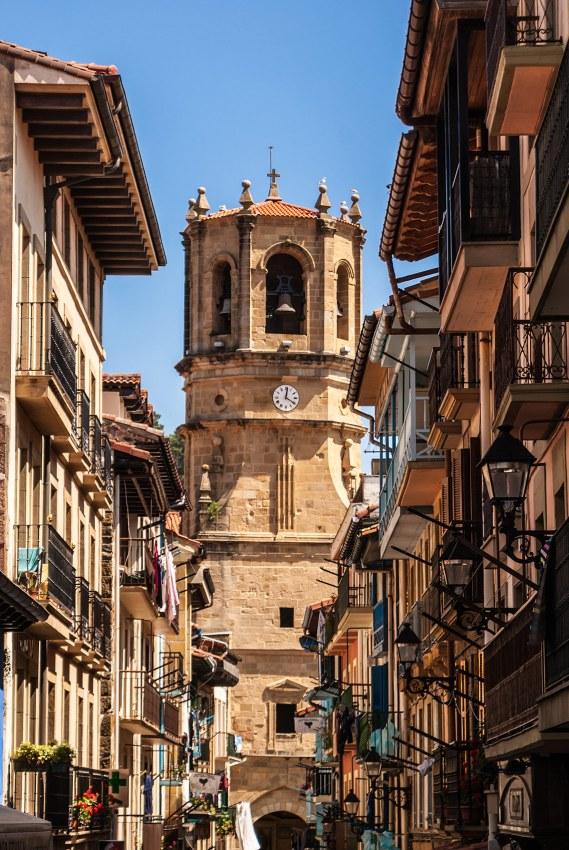 Iglesia de San salvador, Getaria, Euskadi / País Vasco