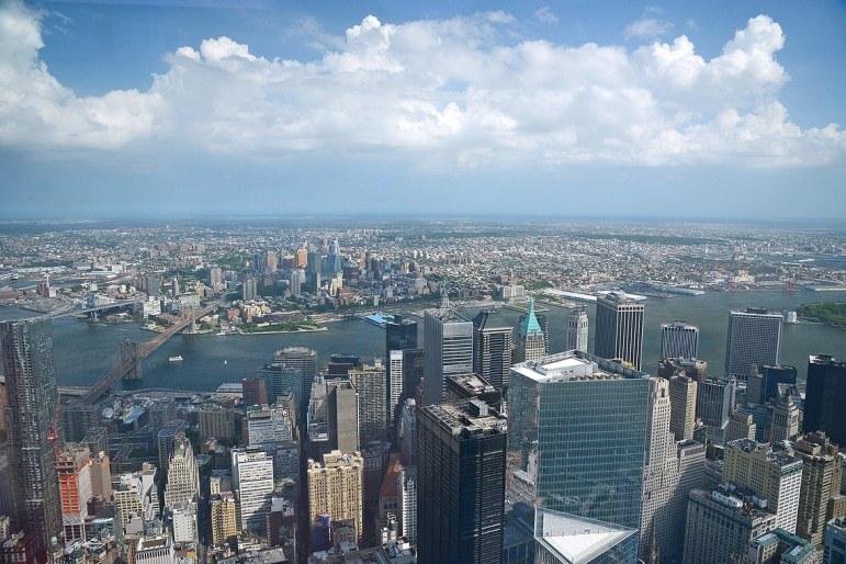 Vista desde el One World Trade Center.