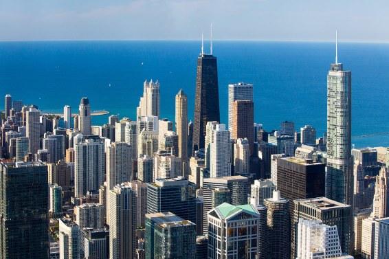 Vista desde la Torre Willis. Chicago.