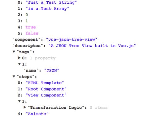Download JSON Data With VUE Components - Vue js Script