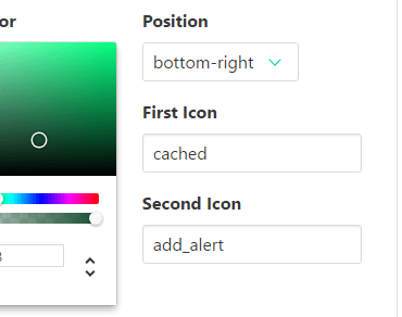 Floating Action Button For Vue.js