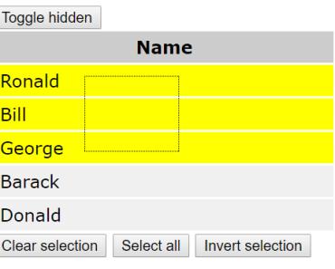 Vue.js Selectable Component