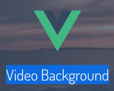 Vue.js Video Background Component
