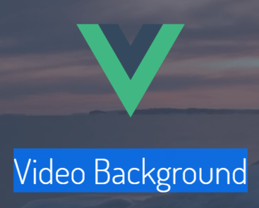 Vue.js Video Background Component