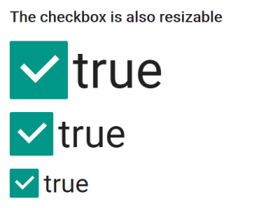 Vue material checkbox