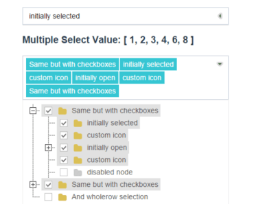 Vue.js 2 Tree Select Plugin