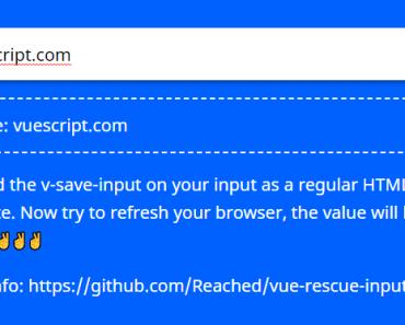 vue-rescue-input
