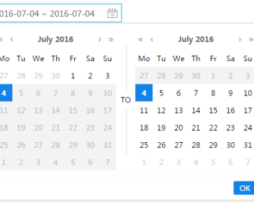 Beautiful Datepicker Component For Vue