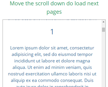 Bidirectional Infinite Scroll Component For Vue.js