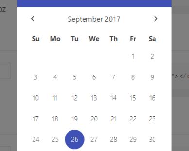 Bootstrap Date Picker For Vue js 2 x - Vue js Script