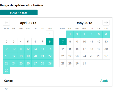Airbnb Style Date Picker For Vue.js