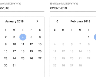 Vuetify Date Range Picker-min