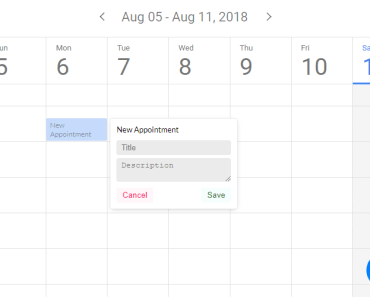 Full Featured Calendar Component For Vue.js - kalendar-min