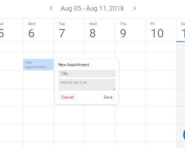 Full Featured Calendar Component For Vue.js - kalendar-min