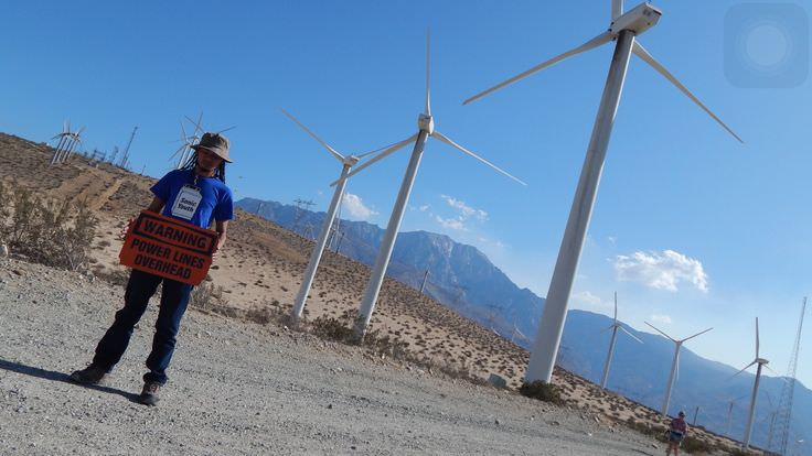Trip to Huge Forest of Giant Wind Turbines-3