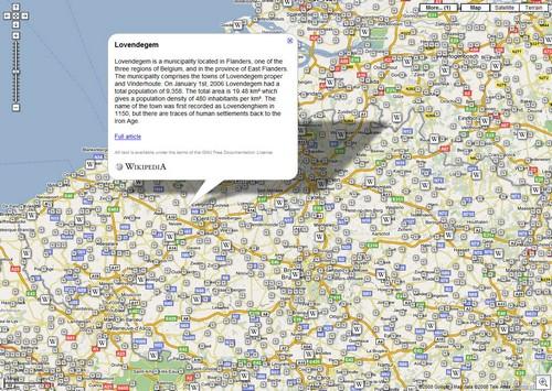 Googlemapswikipedia