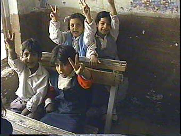 From video we shot in October, 1992 while visiting Baghdad Schools