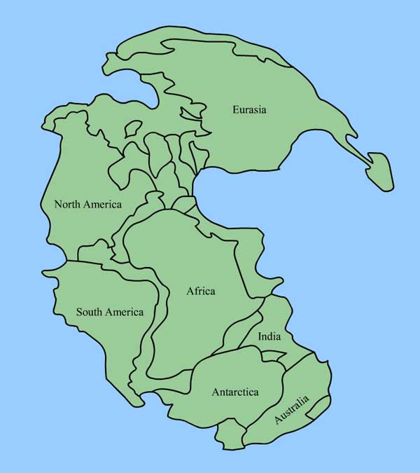 Pangaea -- the Super-continent