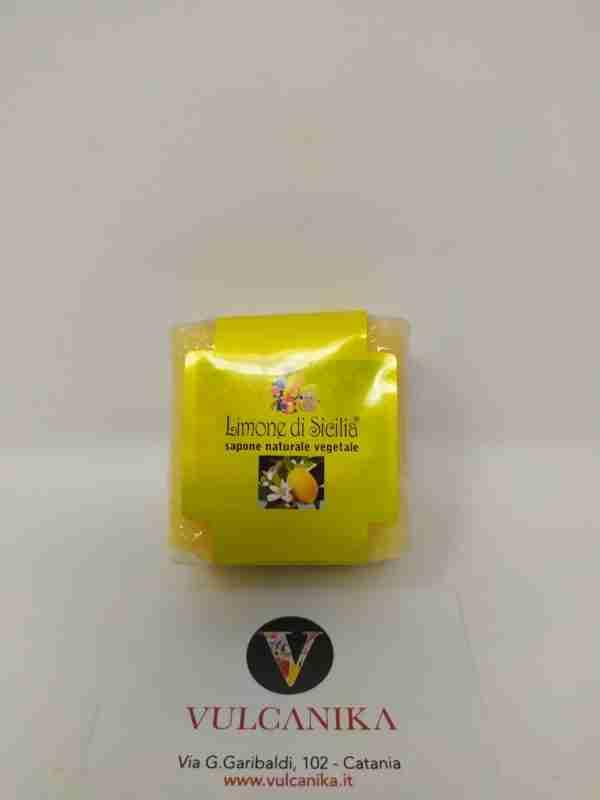 Sapone artigianale Siciliano Limone 125 gr.