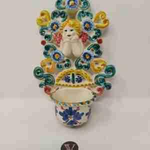 Piatti decorati ceramiche di caltagirone. Ceramica Artistica Di Caltagirone Dipinta A Mano Dai Migliori Artigiani