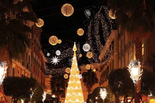 Salerno e le luci d'artista