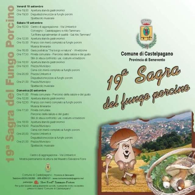 Programma Sagra Castelpagano