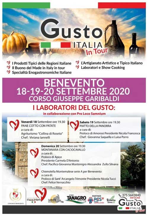 Gusto Italia in tour