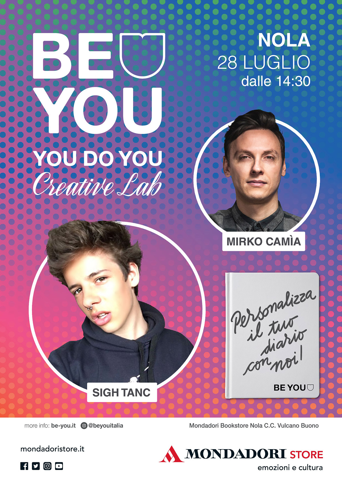 Evento Be You